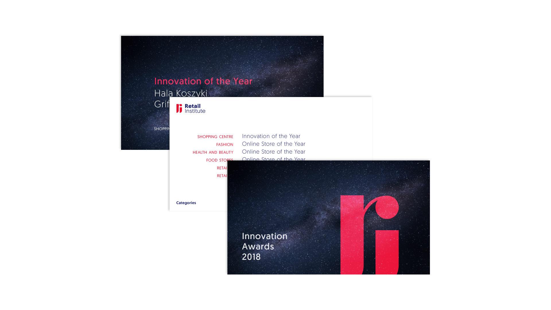 Retail Institute - awards presentation